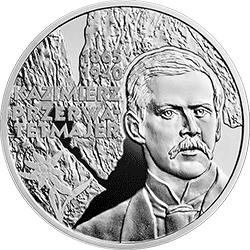 10 zł 2015 150. rocznica urodzin Kazimierza Przerwy-Tetmajera - monety