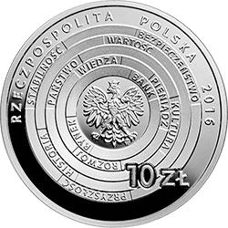 10 zł 2016 Centrum Pieniądza NBP im. Sławomira S. Skrzypka