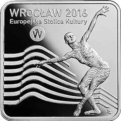 10 zł 2016 Wrocław - Europejska Stolica Kultury - monety