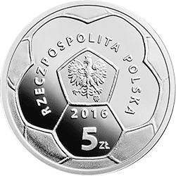 5 zł 2016 Polskie Kluby Piłkarskie - Legia Warszawa