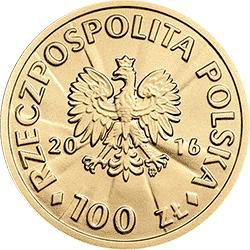 100 zł 2016 Stulecie odzyskania przez Polskę niepodległości - Józef Haller