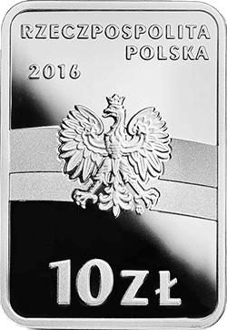 10 zł 2016 Stulecie odzyskania przez Polskę niepodległości - Józef Haller