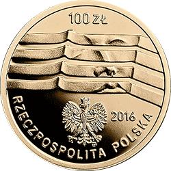 100 zł 2016 Wrocław - Europejska Stolica Kultury