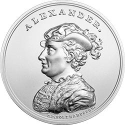 50 zł 2016 Skarby Stanisława Augusta - Aleksander Jagiellończyk