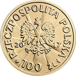 100 zł 2017 Stulecie odzyskania przez Polskę niepodległości – Roman Dmowski
