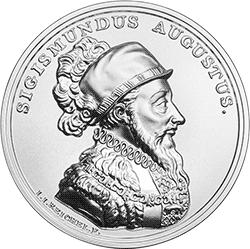 50 zł 2017 Skarby Stanisława Augusta - Zygmunt August - monety