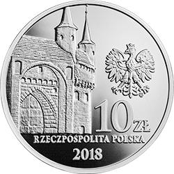 10 zł 2018 760-lecie Towarzystwa Strzeleckiego Bractwo Kurkowe w Krakowie