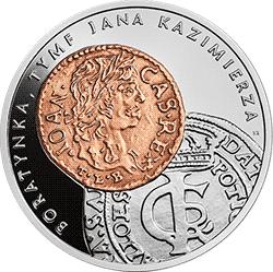 20 zł 2018 Historia Monety Polskiej - boratynka, tymf Jana Kazimierza - monety