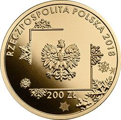 200 zł 2018 Polska Reprezentacja Olimpijska PyeongChang