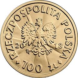 100 zł 2018 Stulecie odzyskania przez Polskę niepodległości – Ignacy Jan Paderewski