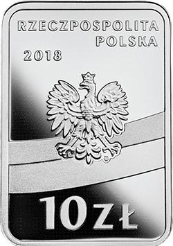 10 zł 2018 Ignacy Jan Paderewski - Stulecie odzyskania przez Polskę niepodległości