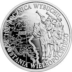10 zł 2018 100. rocznica wybuchu Powstania Wielkopolskiego - monety