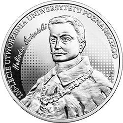 10 zł 2019 100-lecie utworzenia Uniwersytetu Poznańskiego (UP) - monety