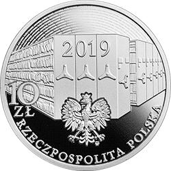 10 zł 2019 100. rocznica podpisania Dekretu o archiwach państwowych