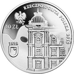 10 zł 2019 200-lecie Akademii Sztuk Pięknych im. Jana Matejki w Krakowie