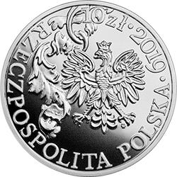 10 zł 2019 420. rocznica urodzin Hetmana Stefana Czarnieckiego