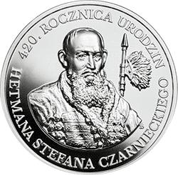 10 zł 2019 420. rocznica urodzin Hetmana Stefana Czarnieckiego - monety