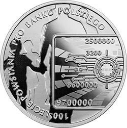 10 zł 2019 100-lecie powstania PKO Banku Polskiego - monety