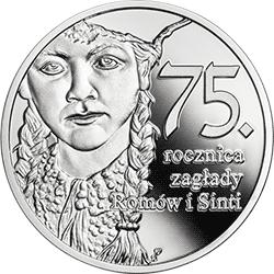 10 zł 2019 75. rocznica zagłady Romów i Sinti - monety