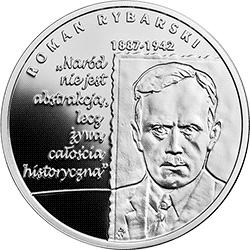 10 zł 2019 Wielcy polscy ekonomiści – Roman Rybarski - monety