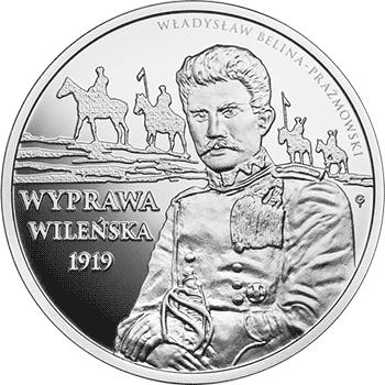 10 zł 2019 Wyprawa wileńska - monety