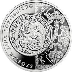 20 zł 2019 Historia Monety Polskiej - szóstak Jana Sobieskiego - monety