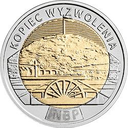 5 zł 2019 Odkryj Polskę – Kopiec Wyzwolenia - monety