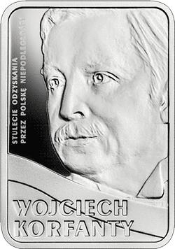 10 zł 2019 Wojciech Korfanty - Stulecie odzyskania przez Polskę niepodległości - monety