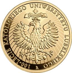 200 zł 2019 100-lecie Katolickiego Uniwersytetu Lubelskiego (KUL) - monety