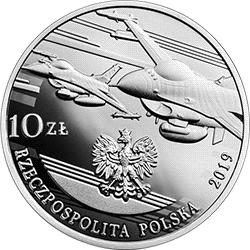 10 zł 2019 100-lecie polskiego lotnictwa wojskowego