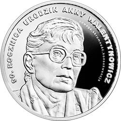 10 zł 2019 90. rocznica urodzin Anny Walentynowicz - monety