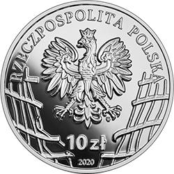 """10 zł 2020 Wyklęci przez komunistów żołnierze niezłomni - Mieczysław Dziemieszkiewicz """"Rój"""""""