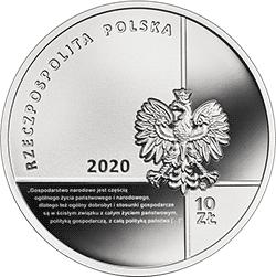 10 zł 2020 Wielcy polscy ekonomiści - Stanisław Głąbiński