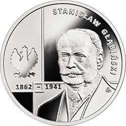10 zł 2020 Wielcy polscy ekonomiści - Stanisław Głąbiński - monety