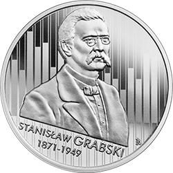 10 zł 2020 Wielcy polscy ekonomiści - Stanisław Grabski - monety