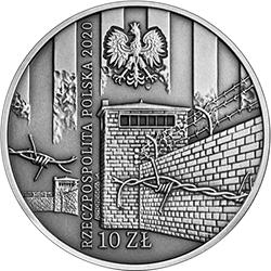 10 zł 2020 Ofiarom obozu KL Warschau