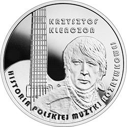 10 zł 2020 Historia polskiej muzyki rozrywkowej - Krzysztof Klenczon - monety