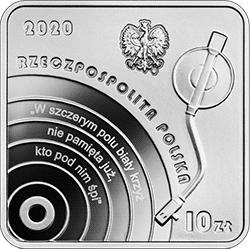 10 zł 2020 Historia polskiej muzyki rozrywkowej - Krzysztof Klenczon - kwadrat