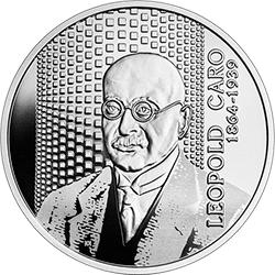 10 zł 2020 Wielcy polscy ekonomiści - Leopold Caro - monety