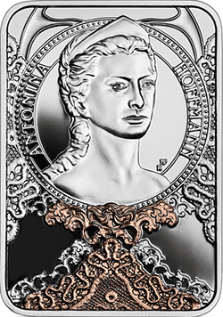 20 zł 2020 Antonina Hoffmann - Wielkie aktorki - monety