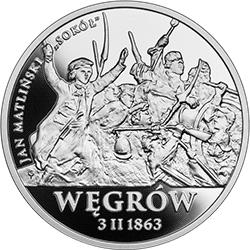20 zł 2020 Polskie Termopile - Węgrów - monety