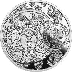 20 zł 2020 Historia Monety Polskiej - złotówka gdańska Augusta III