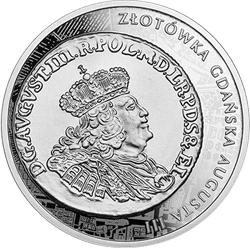 20 zł 2020 Historia Monety Polskiej - złotówka gdańska Augusta III - monety