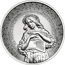 10 zł 2020 10. rocznica tragedii smoleńskiej - monety