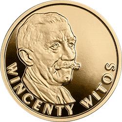 100 zł 2020 Wincenty Witos - Stulecie odzyskania przez Polskę niepodległości - monety