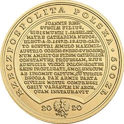 500 zł 2020 Skarby Stanisława Augusta - Zygmunt III Waza