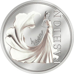 Niue - 2013, 1 dolar - Moda ślubna