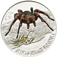 Niue - 2012, 1 dolar - Jadowite Pająki - Tarantula - monety
