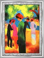 Kongo - 10 franc 2007 - (XI) Arcydzieła Malarstwa Światowego