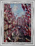 Kongo - 10 franc 2009 - (XX) Arcydzieła Malarstwa Światowego